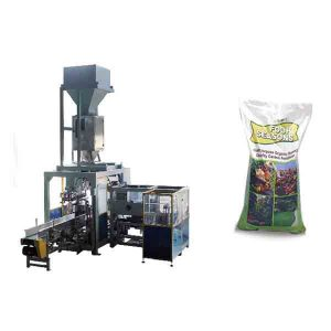 Mesin Grain Automatik 50kg Besar Pembungkusan Baja Kimia