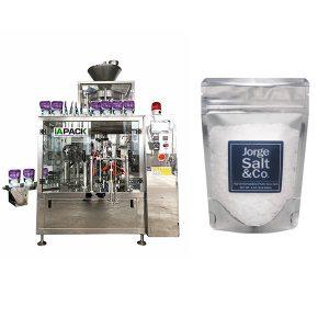 Automatik Rotary Premade Bag Packing Machine untuk Garam