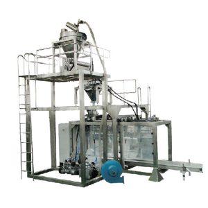 Big Bag Automatic Powder Berat Mesin Pengisian serbuk susu bubuk