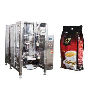 Kotak Quad kopi Borang Isi mesin pembungkusan Mohor