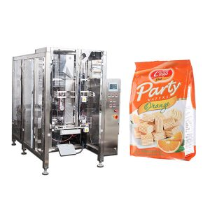 Makanan Segera Makanan Segera Quad Seal Packing Machine