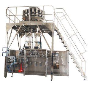 Mesin Pembungkusan Pra-Horisontal Dengan Skala Multihead untuk Granules