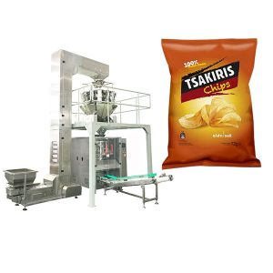 Mesin pembungkusan kerepek kentang